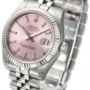 Rolex Datejust Midsize 178274-0012 Kello Pinkki / Teräs