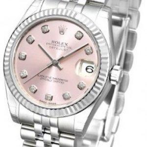 Rolex Datejust Midsize 178274-0022 Kello Pinkki / Teräs