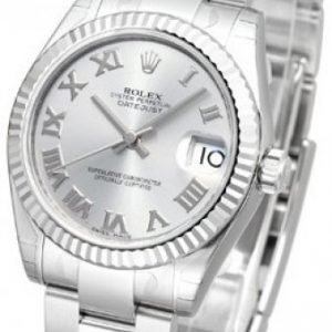 Rolex Datejust Midsize 178274-0062 Kello Hopea / Teräs