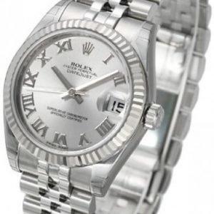 Rolex Datejust Midsize 178274-0063 Kello Hopea / Teräs