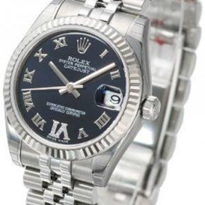 Rolex Datejust Midsize 178274-0088 Kello Violetti / Teräs
