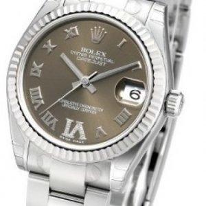 Rolex Datejust Midsize 178274-0089 Kello Samppanja / Teräs