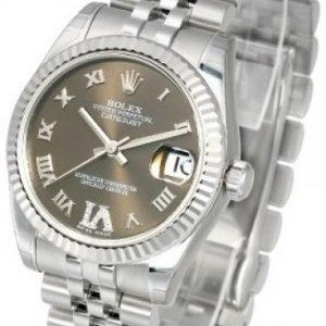 Rolex Datejust Midsize 178274-0090 Kello Samppanja / Teräs
