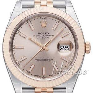 Rolex Datejust41 126331-0010 Kello Hopea / 18k Punakultaa