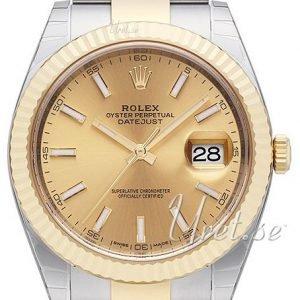 Rolex Datejust41 126333-0009 Kello Kullattu / 18k Keltakultaa
