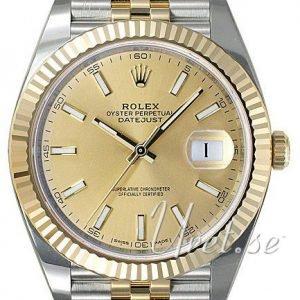 Rolex Datejust41 126333-0010 Kello Kullattu / 18k Keltakultaa
