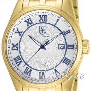 S.Coifman Dress Sc0100 Kello Valkoinen / Kullansävytetty