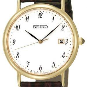 Seiko Dress Ladies Skk700p1 Kello Valkoinen / Nahka