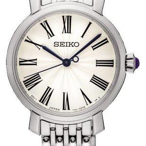 Seiko Dress Ladies Srz495p1 Kello Valkoinen / Teräs