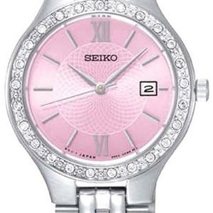 Seiko Dress Ladies Sur765p9 Kello Pinkki / Teräs