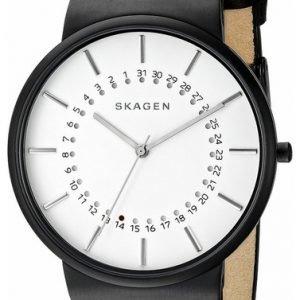 Skagen Ancher Skw6243 Kello Valkoinen / Nahka