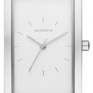 Skagen Hagen Skw2464 Kello Valkoinen / Nahka