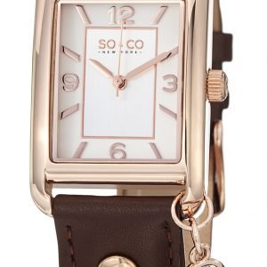 So & Co New York Madison 5024.3 Kello Hopea / Nahka