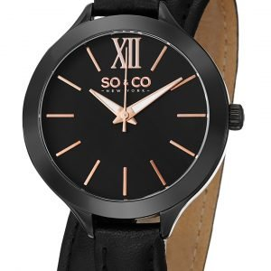 So & Co New York Madison 5047.4 Kello Musta / Nahka