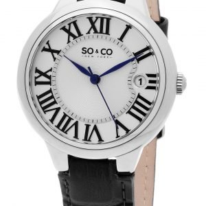 So & Co New York Madison 5052l.1 Kello Hopea / Nahka