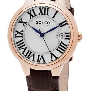 So & Co New York Madison 5052l.2 Kello Hopea / Nahka