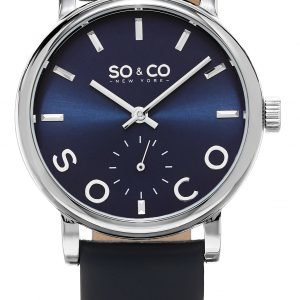 So & Co New York Madison 5093l.2 Kello Sininen / Nahka