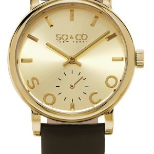 So & Co New York Madison 5093l.3 Kello Kullattu / Nahka