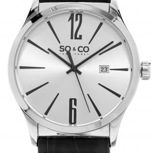 So & Co New York Madison 5098.1 Kello Hopea / Nahka