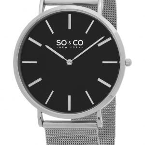 So & Co New York Madison 5102.1 Kello Musta / Teräs