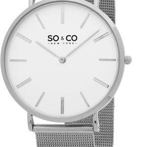 So & Co New York Madison 5102.2 Kello Valkoinen / Teräs
