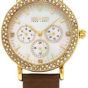 So & Co New York Madison 5216l.3 Kello Valkoinen / Satiini