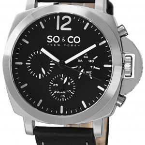 So & Co New York Soho 5022.1 Kello Musta / Nahka