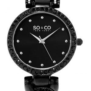So & Co New York Soho 5062.4 Kello Musta / Teräs