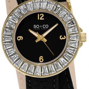 So & Co New York Soho 5070.1 Kello Musta / Nahka
