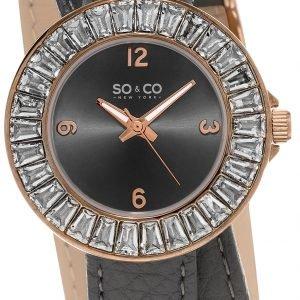 So & Co New York Soho 5070.4 Kello Harmaa / Nahka
