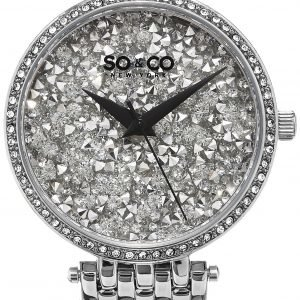 So & Co New York Soho 5080.1 Kello Kristalleilla / Teräs