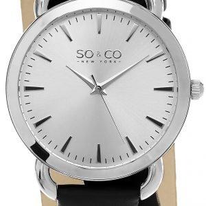 So & Co New York Soho 5086.1 Kello Hopea / Nahka