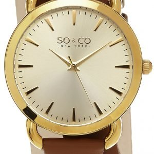 So & Co New York Soho 5086.2 Kello Samppanja / Nahka