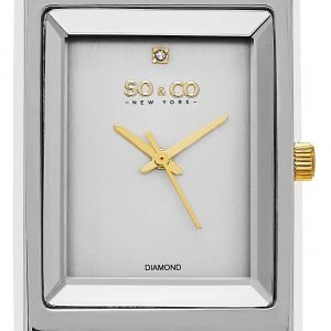 So & Co New York Soho 5094.4 Kello Hopea / Kullansävytetty