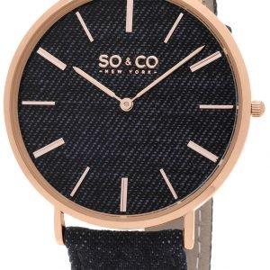 So & Co New York Soho 5103.5 Kello Sininen / Nahka