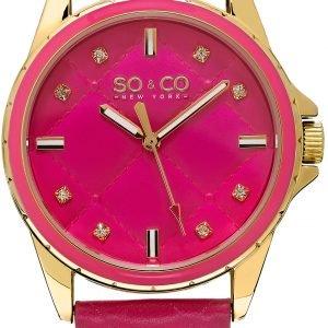So & Co New York Soho 5201.2 Kello Pinkki / Nahka