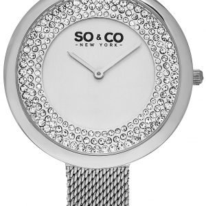 So & Co New York Soho 5259.1 Kello Valkoinen / Teräs
