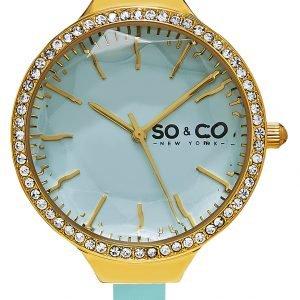 So & Co New York Soho 5261.1 Kello Sininen / Nahka