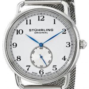 Stührling Original 207m.01 Kello Valkoinen / Teräs