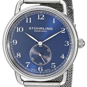 Stührling Original 207m.03 Kello Sininen / Teräs