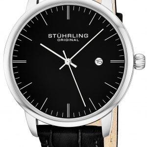 Stührling Original 3997.2 Kello Musta / Teräs
