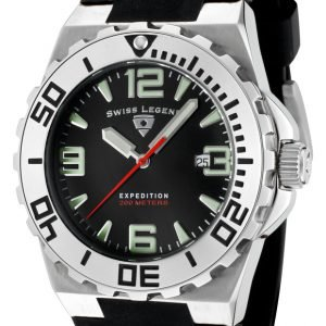 Swiss Legend Expedition Sl-10008-01 Kello Musta / Kumi