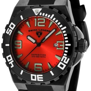 Swiss Legend Expedition Sl-10008-Bb-05 Kello Punainen / Kumi