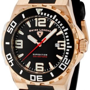 Swiss Legend Expedition Sl-10008-Rg-01-Bb Kello Musta / Kumi