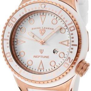 Swiss Legend Neptune Sl-21818d-Rg-02-Wht Kello Valkoinen / Kumi