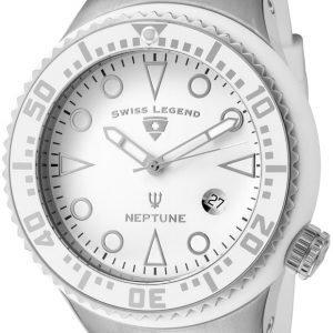 Swiss Legend Neptune Sl-21848d-02-Wht Kello Valkoinen / Kumi
