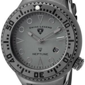 Swiss Legend Neptune Sl-21848d-Pht-14 Kello Harmaa / Kumi