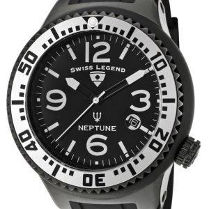 Swiss Legend Neptune Sl-21848p-Bb-01-Sa Kello Musta / Kumi