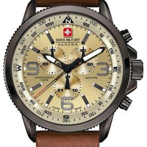 Swiss Military Sport 06-4224.30.002 Kello Beige / Nahka