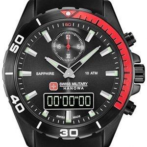 Swiss Military Sport 06-4298.3.13.007 Kello Musta / Kumi